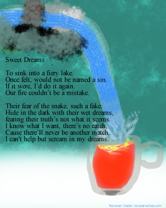 sweet dreams poetry image