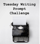 Tuesday Writing Prompt Challenge Badge, GoDogGoCafe Blog