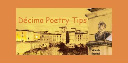 Decima Poetry Tip image.