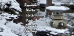Ronovan Writes Haiku Challenge Winter badge 2021