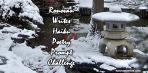 Ronovan Writes Haiku Challenge Winter badge 2021